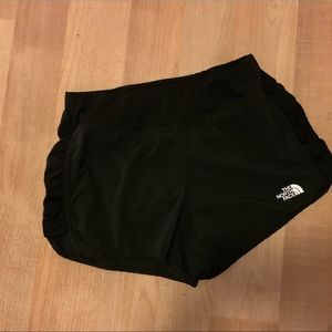 The North Face running athletic shorts small